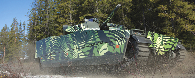 BAE Systems Debuts iFighting for Combat Vehicles