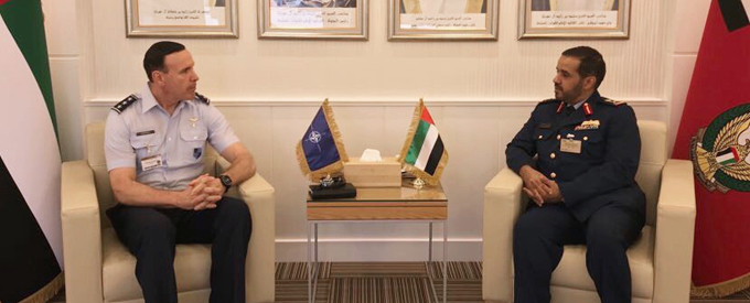 UAE defence official receives Deputy Chairman NATO Military Committee