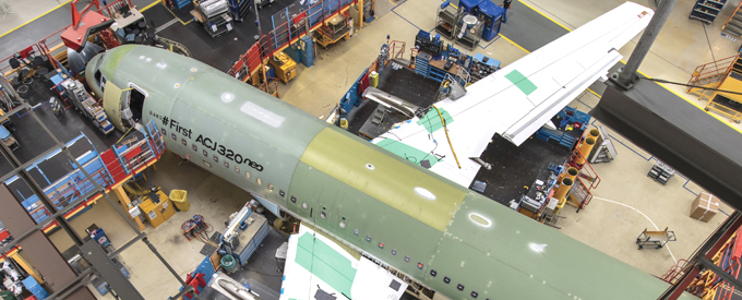 ACJ320neo Enters Final Assembly