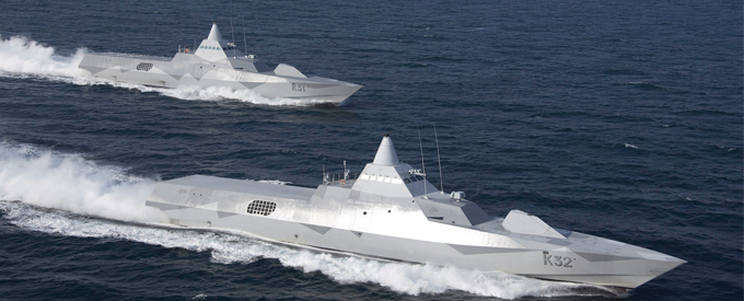 Saab signs contract to upgrade Swedish corvettes