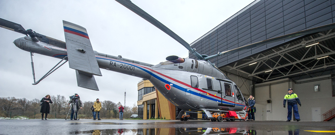 Medical helicopters to receive 24/7 technical support